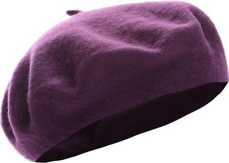 Fioletowa czapka Renee