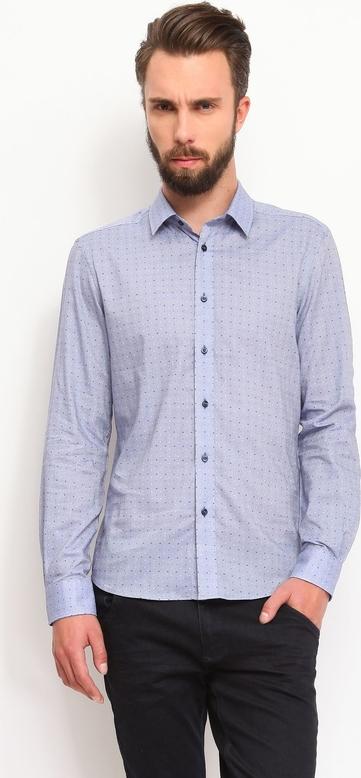 Fioletowa koszula Top Secret
