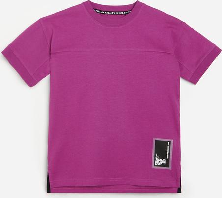 Fioletowa koszulka dziecięca Reserved dla chłopców