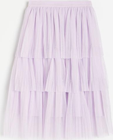 Fioletowa spódniczka dziewczęca Reserved