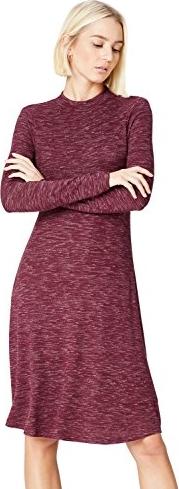 Fioletowa sukienka amazon.de midi