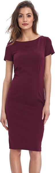 Fioletowa sukienka Colett ołówkowa