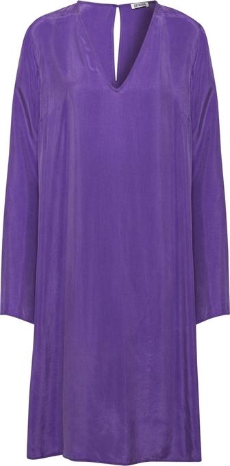Fioletowa sukienka Drykorn mini prosta