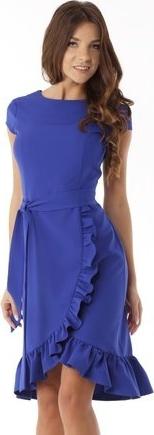Fioletowa sukienka Ella Dora midi
