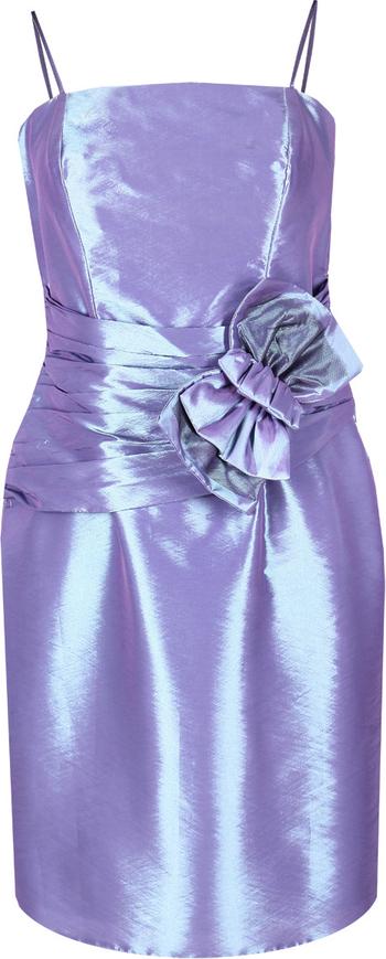 Fioletowa sukienka Fokus