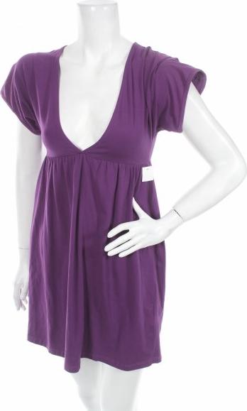 Fioletowa sukienka H w stylu casual