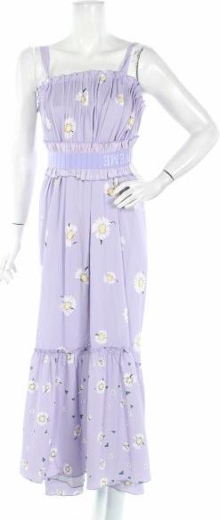 Fioletowa sukienka Holzweiler