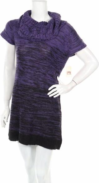 Fioletowa sukienka L.e.i. prosta w stylu casual mini