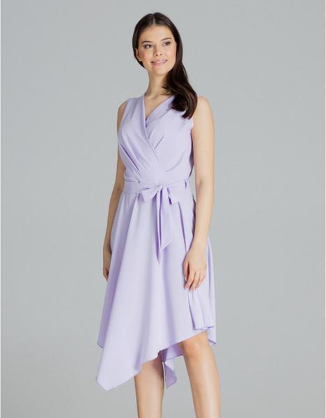 Fioletowa sukienka LENITIF