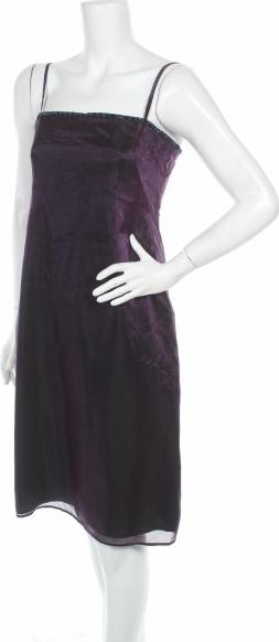 Fioletowa sukienka Lussile prosta