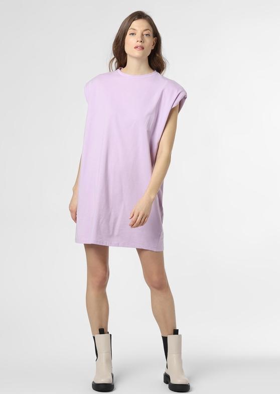 Fioletowa sukienka NA-KD z krótkim rękawem mini