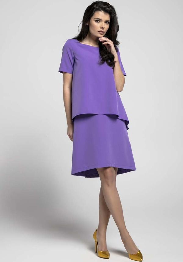 Fioletowa sukienka Nommo