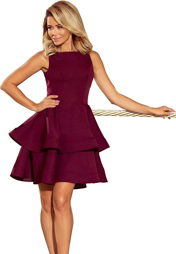 Fioletowa sukienka NUMOCO