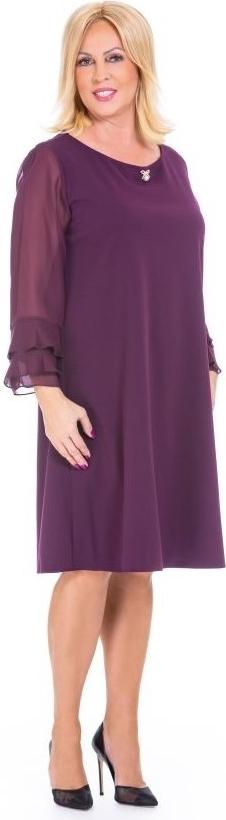 Fioletowa sukienka Roxana - sukienki