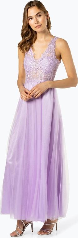 Fioletowa sukienka SUDDENLY Princess bez rękawów maxi