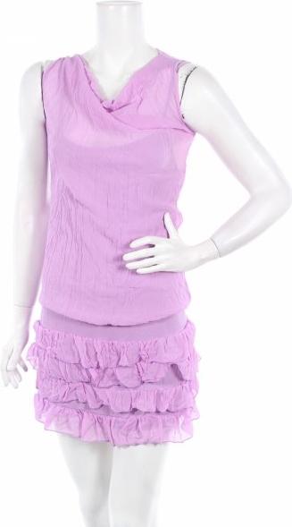 Fioletowa sukienka Sueno bez rękawów mini