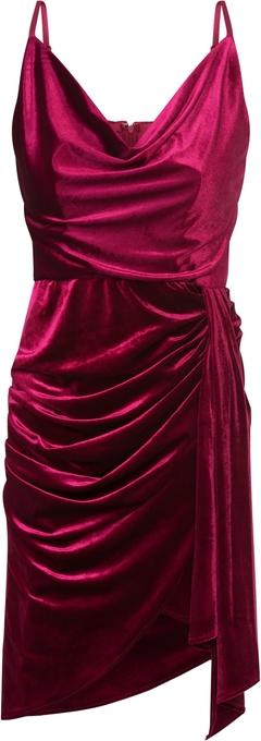 Fioletowa sukienka Tfnc prosta
