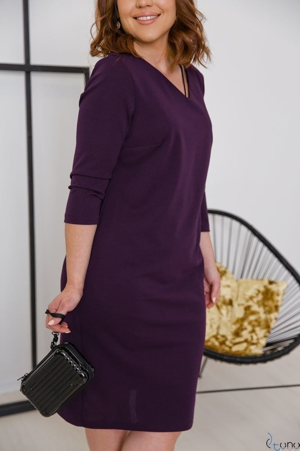 Fioletowa sukienka tono.sklep.pl