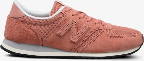 Fioletowe buty sportowe New Balance w sportowym stylu sznurowane Buty Damskie Buty sportowe PZ CPGIPZ-3 piękny