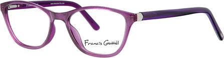 85% ZNIŻKI Fioletowe okulary damskie Francis Gattel Akcesoria Damskie Okulary damskie BZ ZFBJBZ-2
