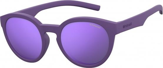 Fioletowe okulary damskie Polaroid