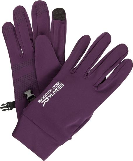 Fioletowe rękawiczki Regatta