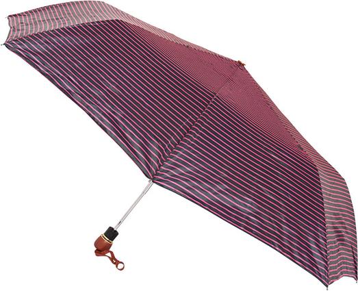 Fioletowy parasol perletti w paski w stylu casual