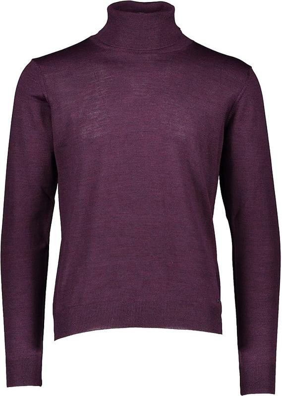 Fioletowy sweter Daniel Hechter w stylu casual