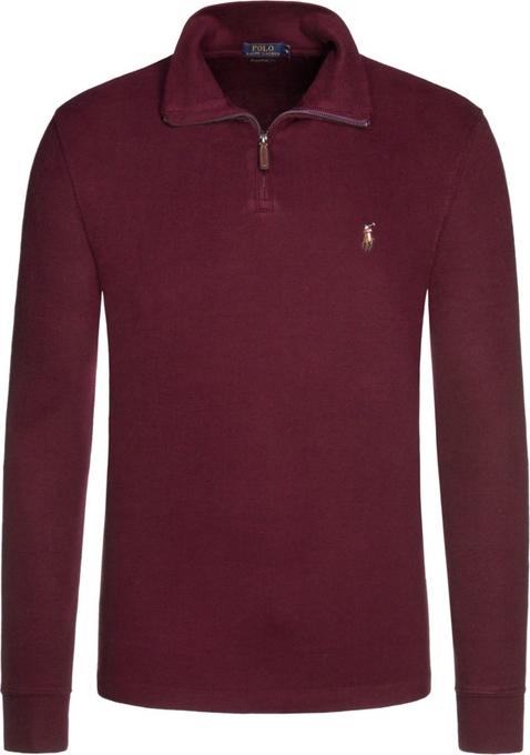 Fioletowy sweter POLO RALPH LAUREN w stylu casual