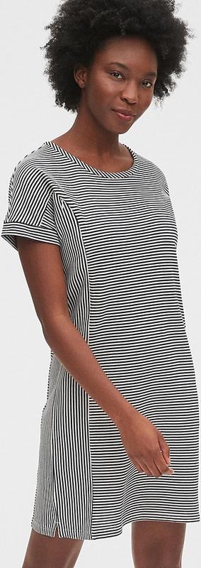 Gap Sukienka ciążowa w kolorze czarno-białym