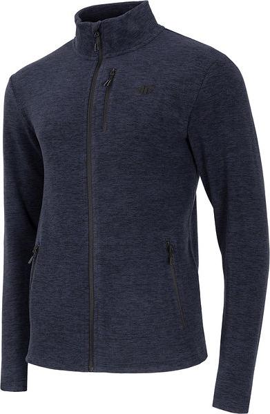 Granatowa bluza 4F z plaru