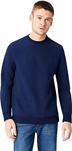 Granatowa bluza Find