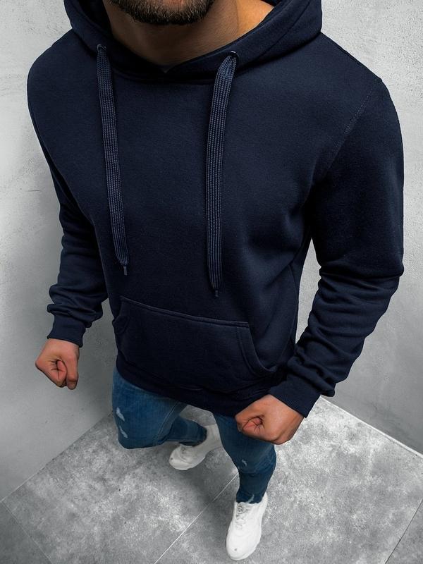 Granatowa bluza J.STYLE z bawełny
