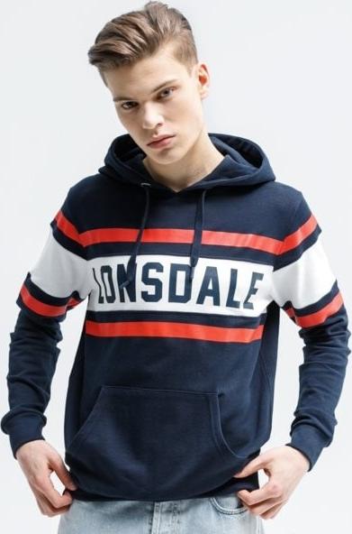 Granatowa bluza Lonsdale