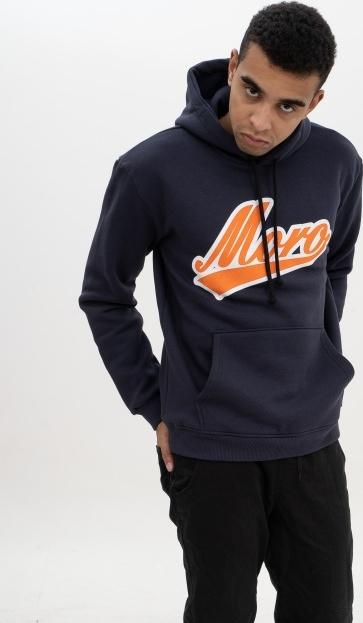 Granatowa bluza Moro Sport z bawełny