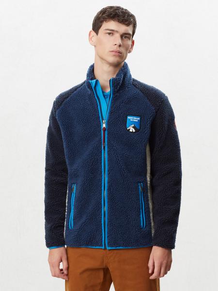 Granatowa bluza Napapijri z plaru