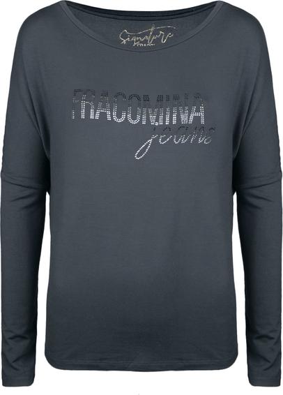 Granatowa bluzka Fracomina Bluzka