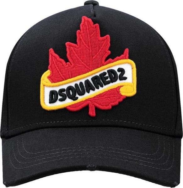 Granatowa czapka Dsquared2