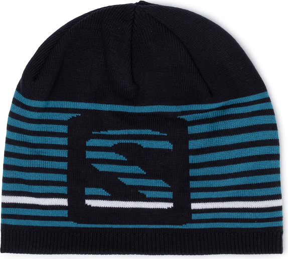 Granatowa czapka Salomon