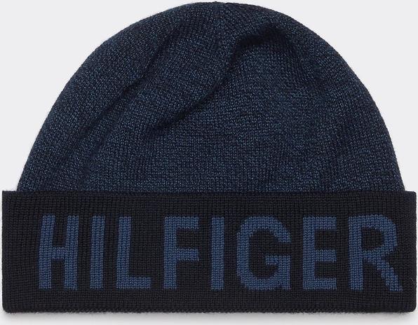Granatowa czapka Tommy Hilfiger