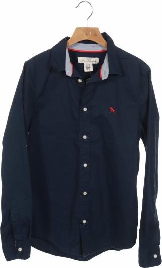 Granatowa koszula dziecięca H&m L.o.g.g.