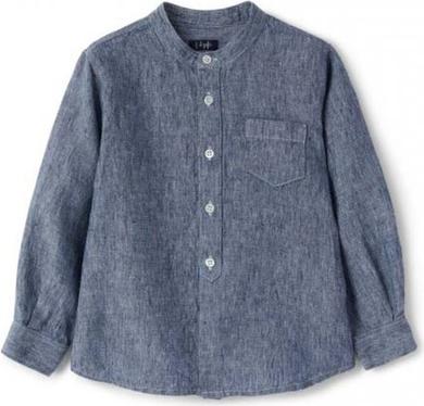 Granatowa koszula dziecięca Il Gufo