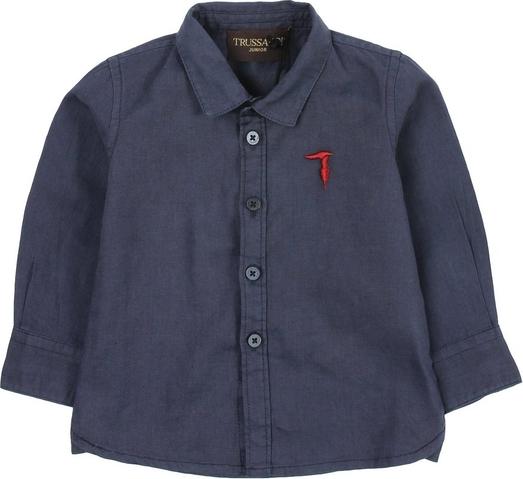 Granatowa koszula dziecięca Trussardi dla chłopców