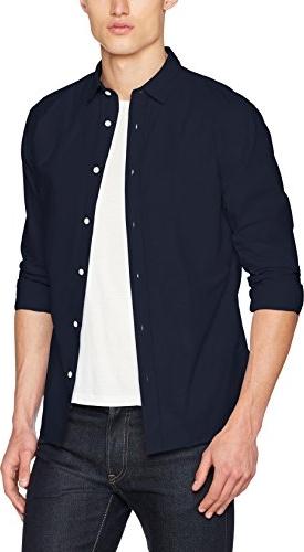 Granatowa koszula selected homme