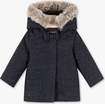 Granatowa kurtka dziecięca Baby Club dla chłopców