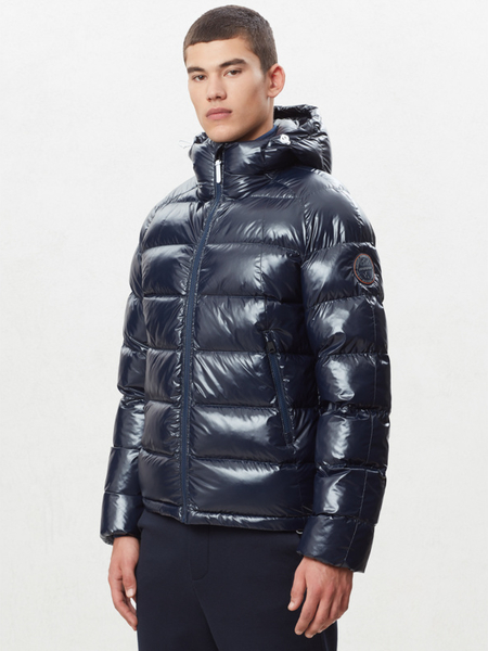Granatowa kurtka Napapijri w stylu casual