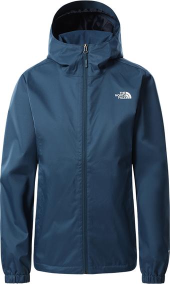 Granatowa kurtka The North Face w sportowym stylu