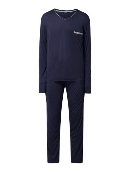 Granatowa piżama HOM