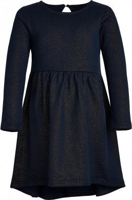 Granatowa sukienka dziewczęca Endo
