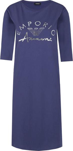 Granatowa sukienka Emporio Armani w stylu casual